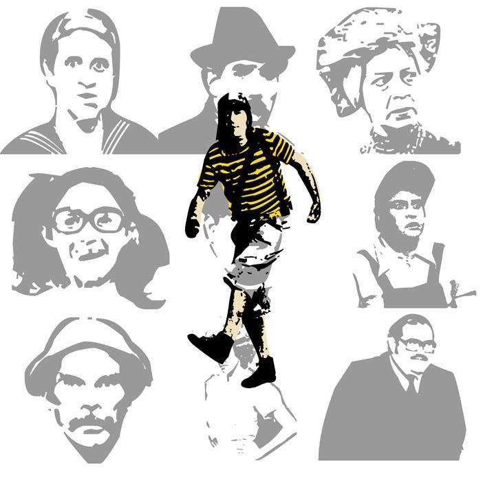 Image for EL CHAVO DEL 8 font
