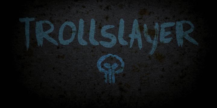 Image for DK Trollslayer font
