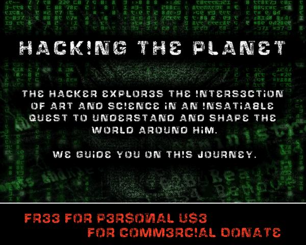 Image for HackingTrashed font