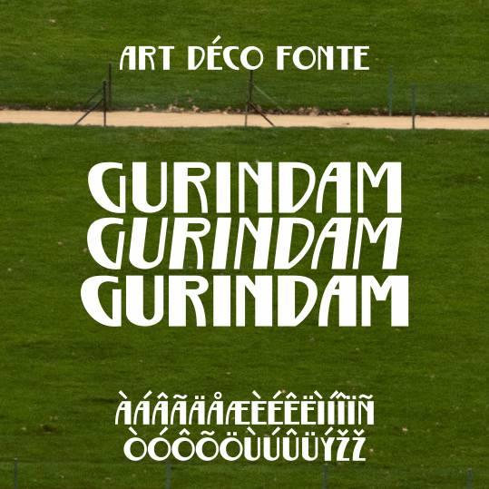 Image for Gurindam font