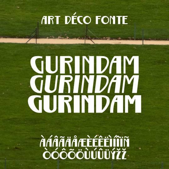 Gurindam font by Gunarta