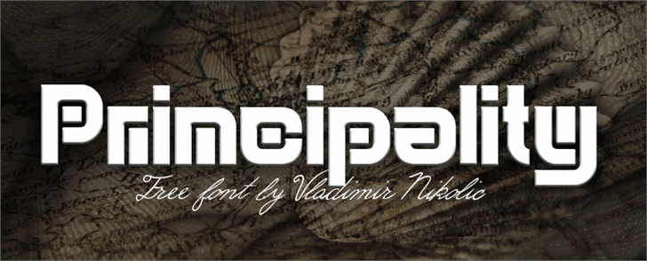 Image for Principality font