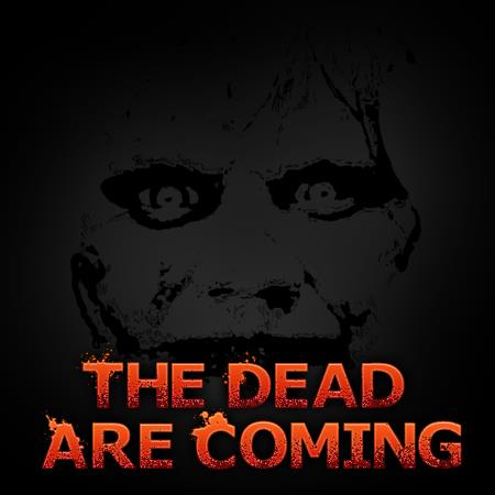 TheDeadAreComing font by Chris Vile