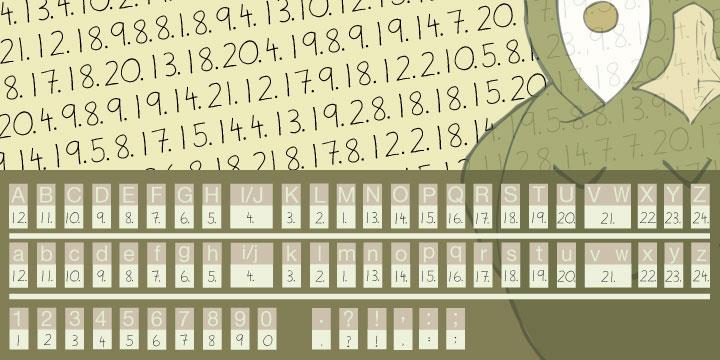Image for Illuminati Novice Cipher font