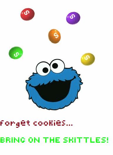 Image for Skittles font