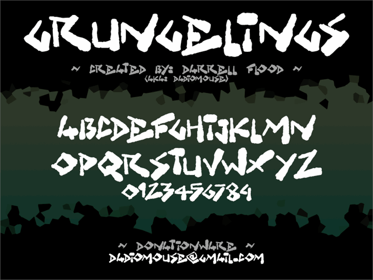 Image for Grungelings font
