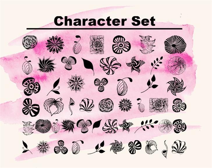 Image for Dingfleur font