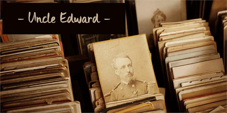 Image for DK Uncle Edward font