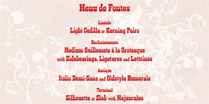 Image for Zabars font