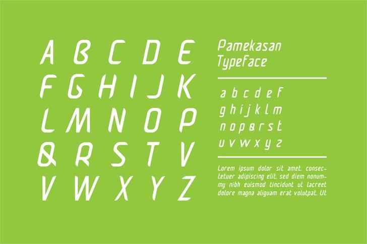 Pamekasan font by Privy House