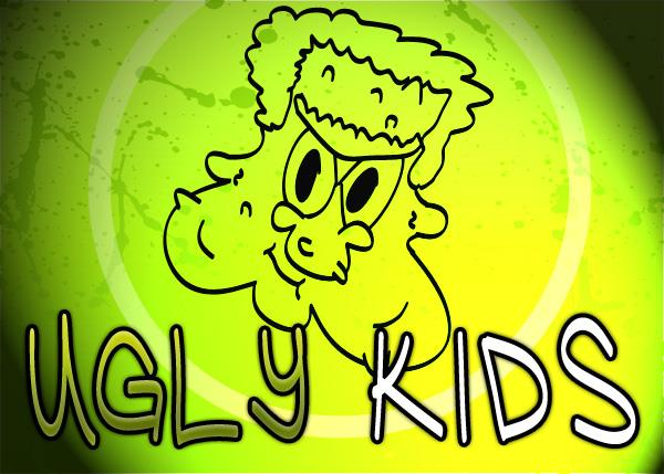 Ugly Kids font by Font Monger