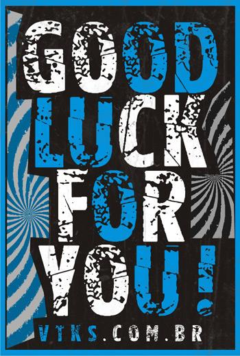 Image for Vtks good luck for you font