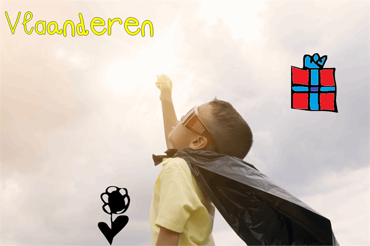Image for Vlaanderen font