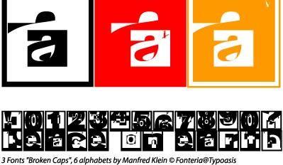 Image for Broken Sans font