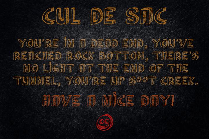 Image for Cul De Sac font