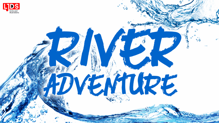 Image for River Adventure Personal Use font