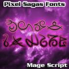 Image for Mage Script font
