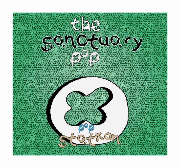 Image for the sanctuary pop font