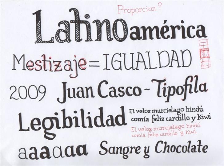 Image for Tipófila font