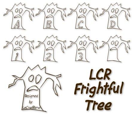 LCR Firghtful Tree font by LeChefRene