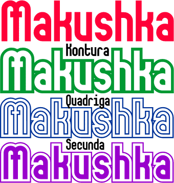 Image for Makushka font