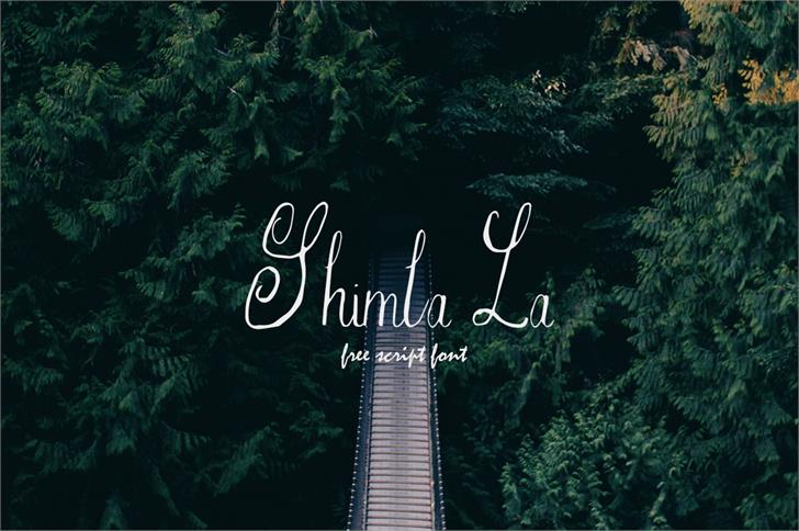 Image for Shimla La font