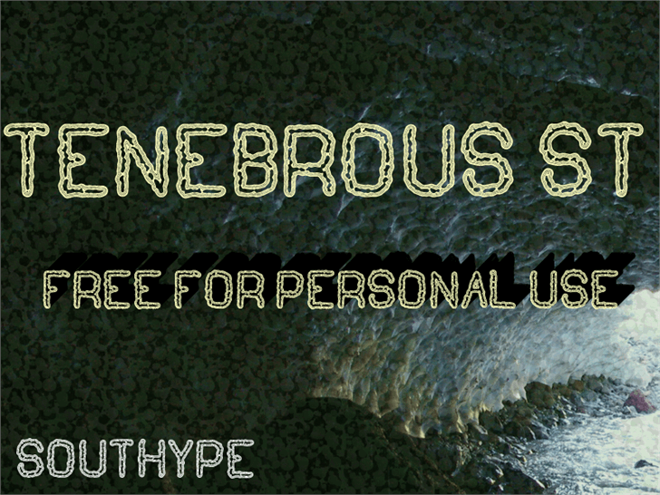 Tenebrous St font by Southype