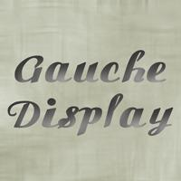 Image for Gauche Display font