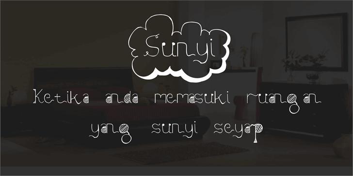 Image for Sunyi font