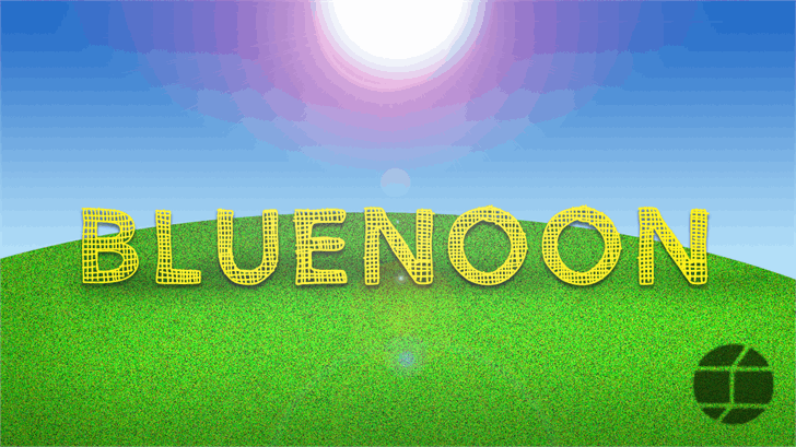 Image for BlueNoon font