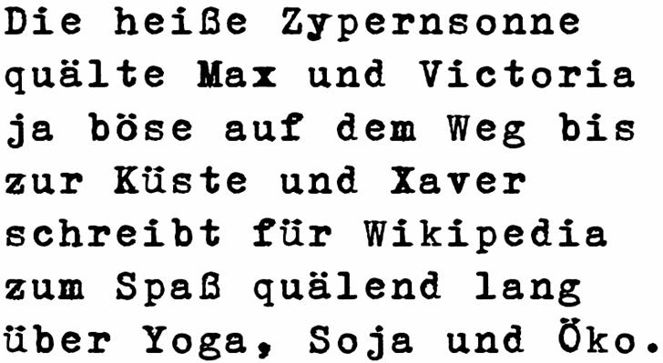 Image for Erika Ormig font