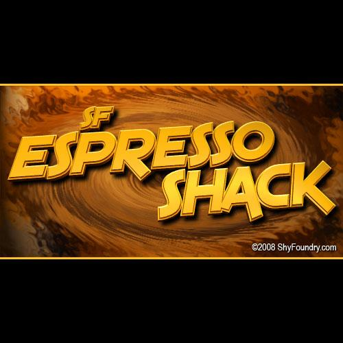 SF Espresso Shack font by ShyFoundry