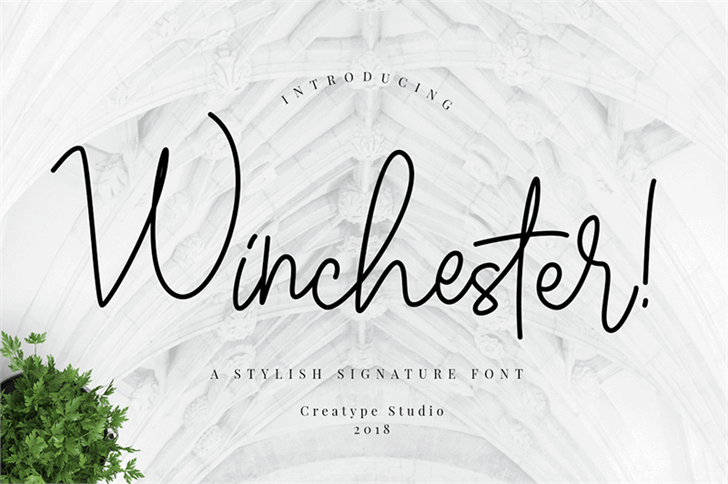 Winchester font by Creatype Studio