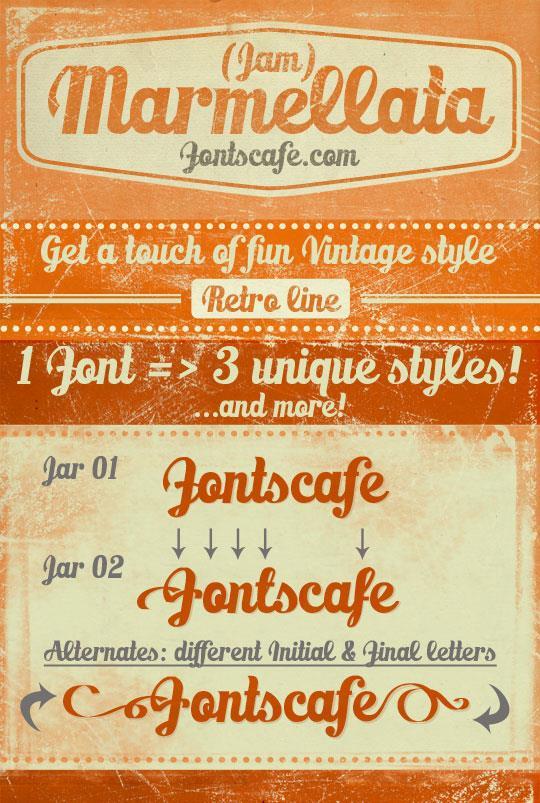 Image for Marmellata (Jam)_demo font