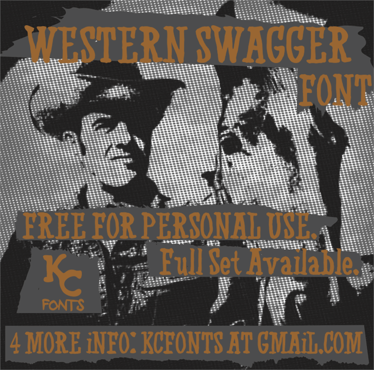 Image for Western Swagger font