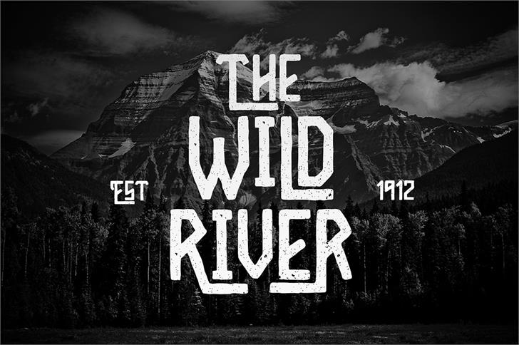 Image for Wild River font
