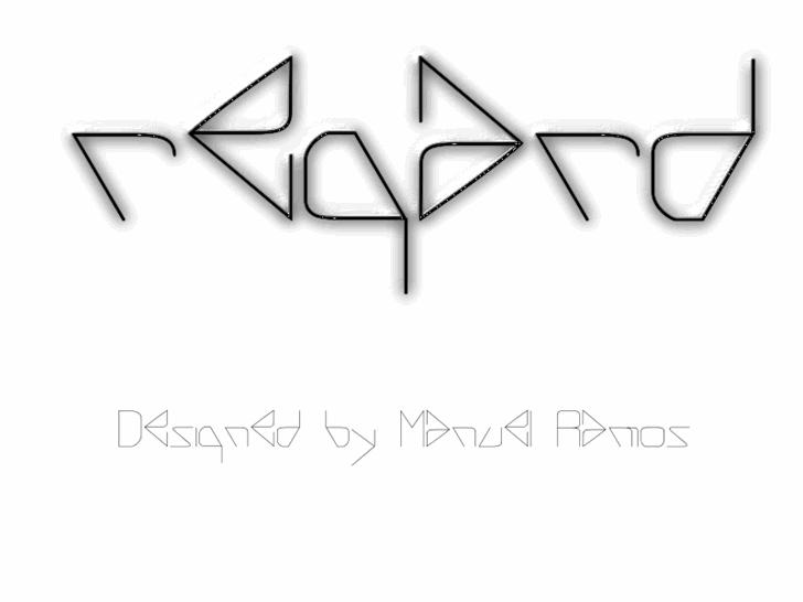 Image for REGARD font