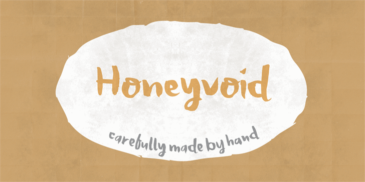 Image for Honeyvoid DEMO font