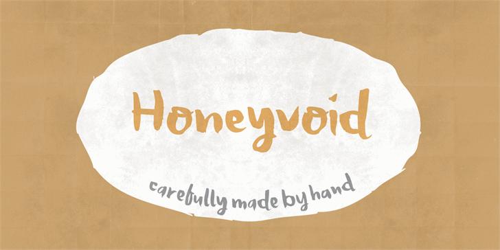 Image for Honeyvoid DEMO font