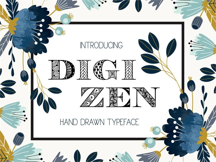 Image for Digizen font