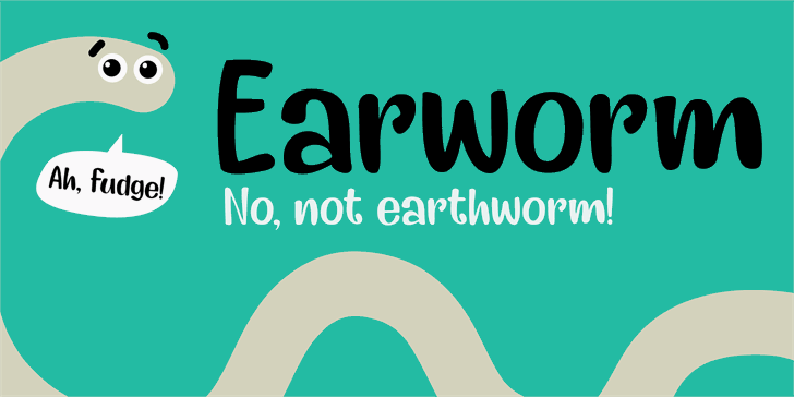 Earworm DEMO font by David Kerkhoff