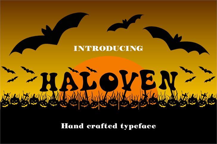 Image for Haloven font