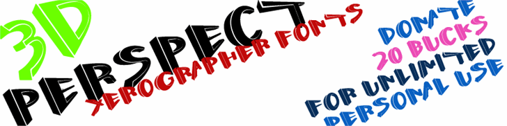 Image for Perspect font