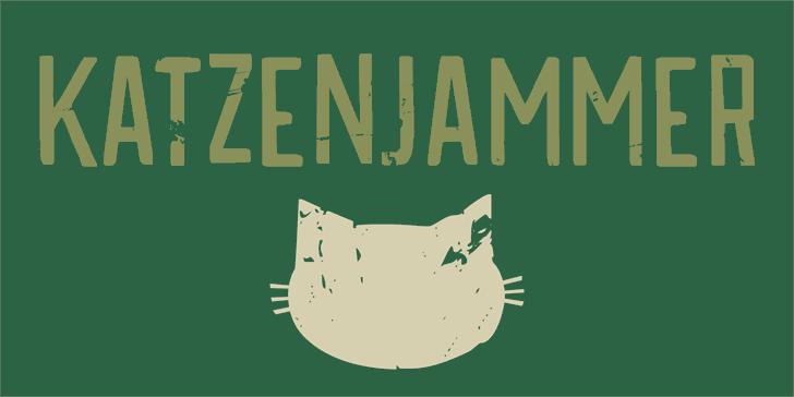 Image for DK Katzenjammer font
