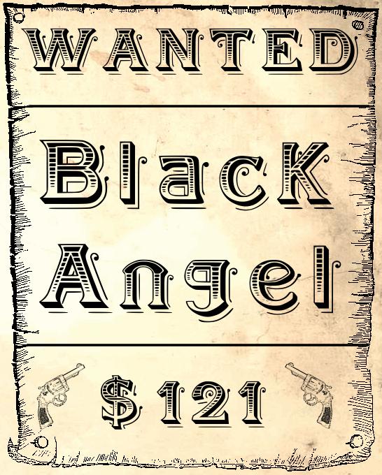 Image for BlackAngel font