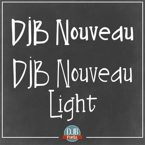 Image for DJB Nouveau font