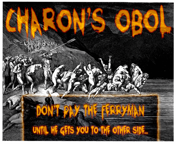 Image for Charons Obol font