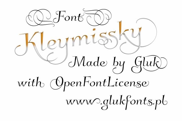 Image for Kleymissky font