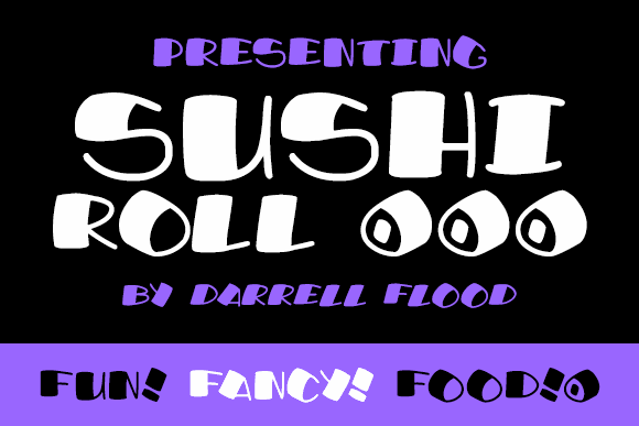 Image for Sushi Roll font