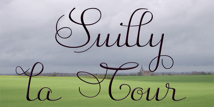 Image for Suilly la Tour-Demo font